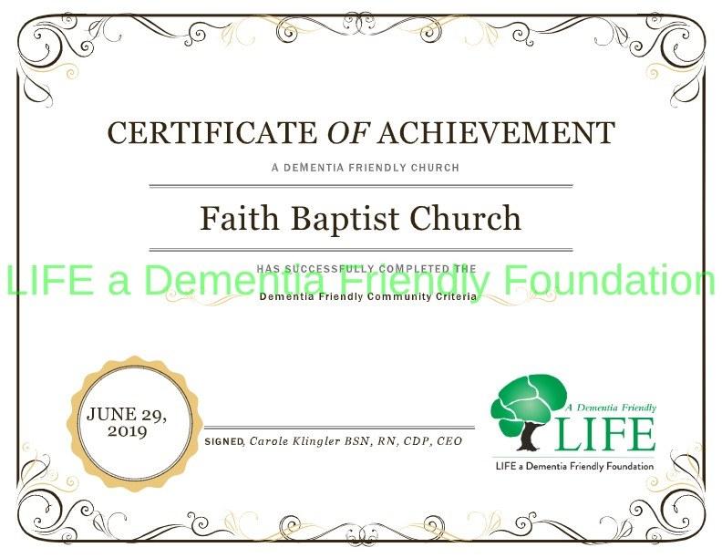 image for Faith Baptist Church